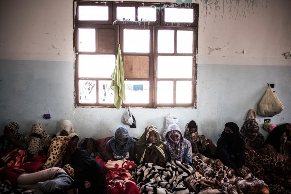 Centres de détention dans la région de Tripoli. Libye, 2017. © Guillaume Binet/Myop