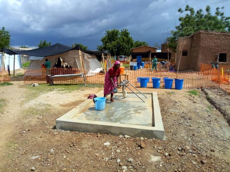Centre de traitement du choléra à Maradi, au Niger. Août 2018. © Moctar Abass/MSF