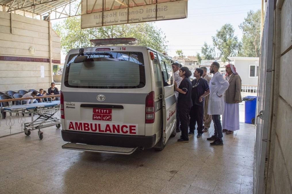 MSF a commencé ses activités à Sinuni, la ville la plus densément peuplée du district de Sinjar, au nord de l'Irak, après avoir constaté que très peu de services existaient en dehors des soins de santé primaires. Irak. Septembre 2018. © MSF