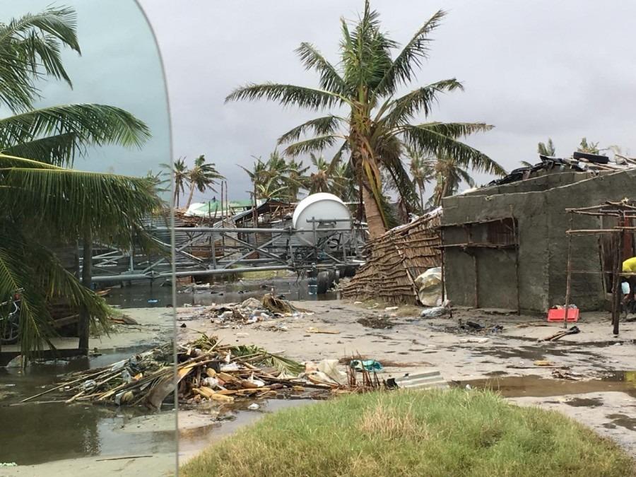 MSF Zyklon Idai Mozambik