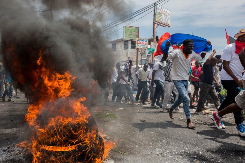 MSF Haïti Manifestations
