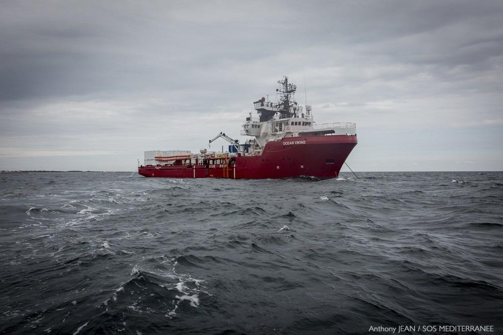 Opérations de recherche et de sauvetage. Mer Méditerranée.