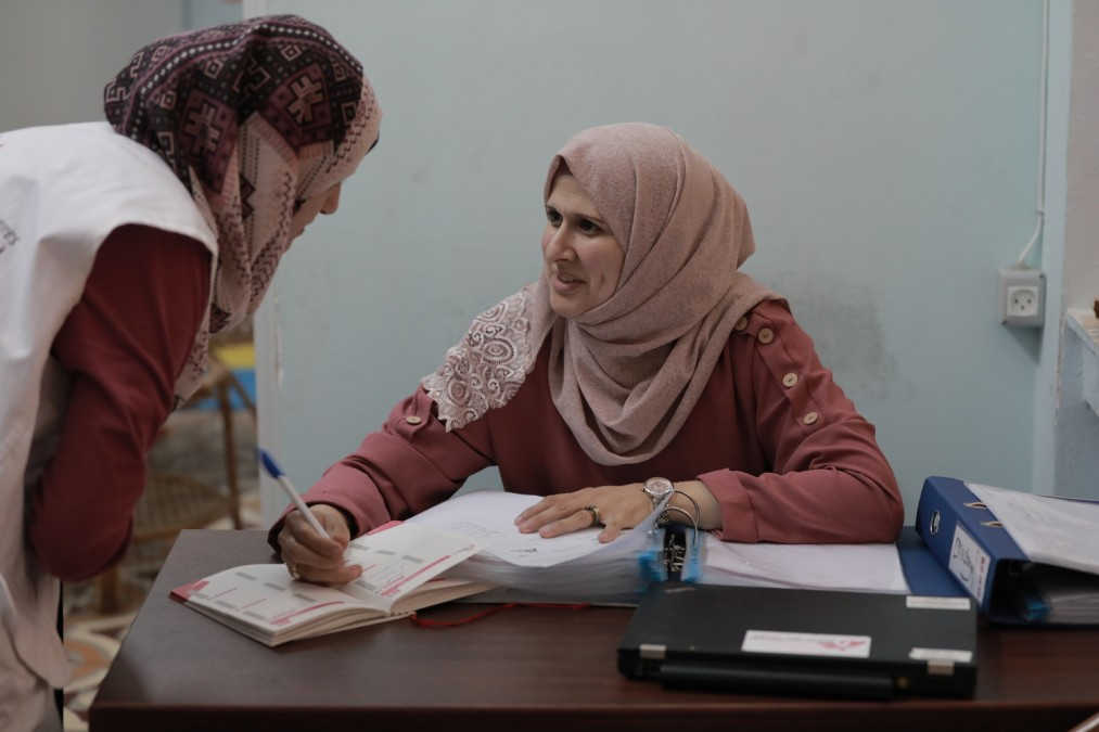 Palestine, santé mentale, MSF