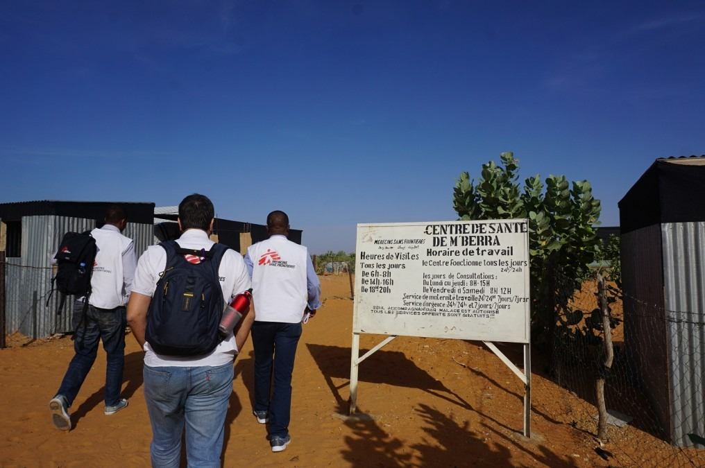 The Mbera Health Center, Mauritania, where MSF has been treating patients with NCDs. © Anita Williams / MSF