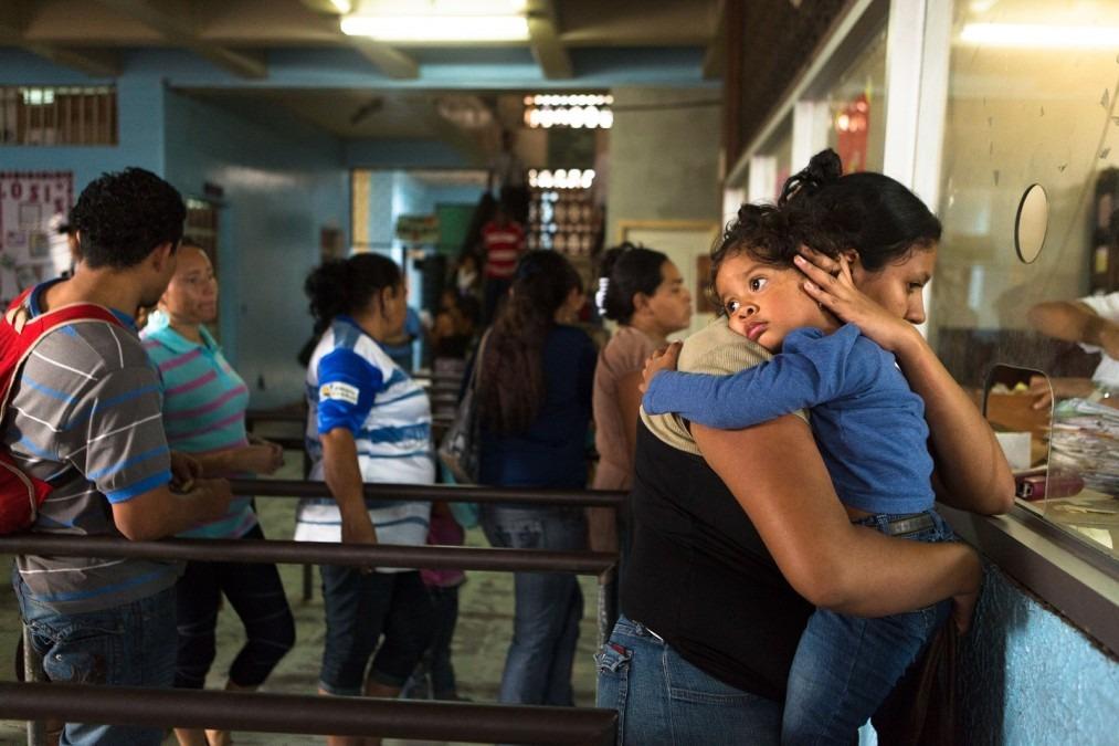 Le « servicio prioritario », assure la prise en charge de patients dans deux centres de santé et au principal hôpital de Tegucigalpa. © Mayerling Garcia, mars 2014.