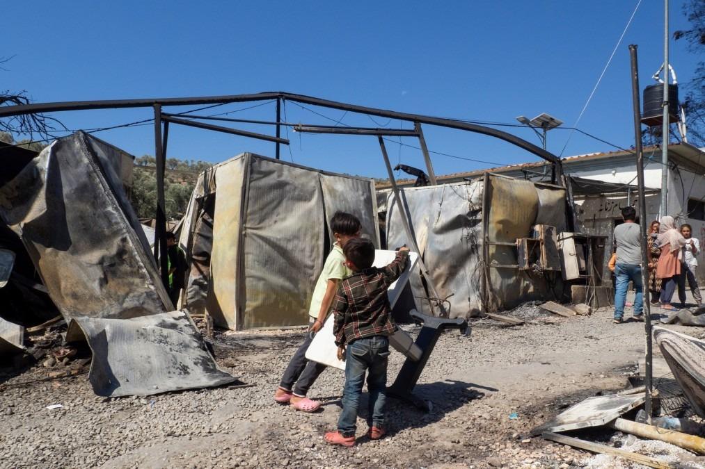MSF, Refugee camp, Greece, Moria, crisis