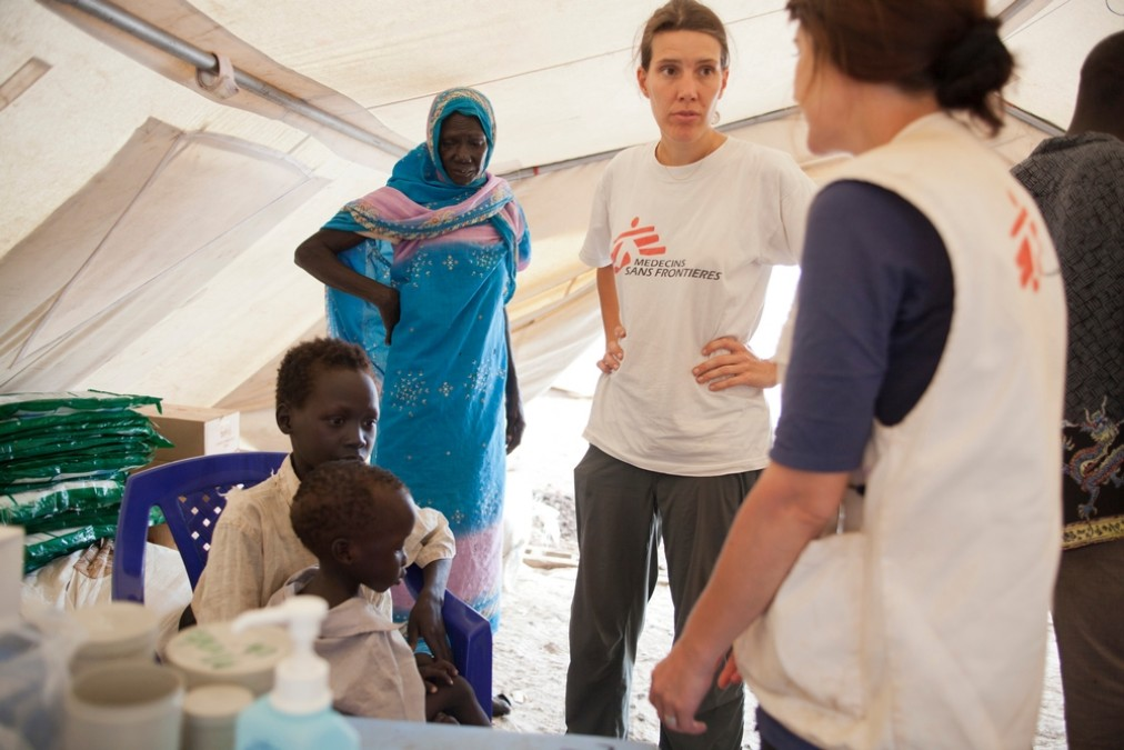 Camp de Batil au Soudan du Sud