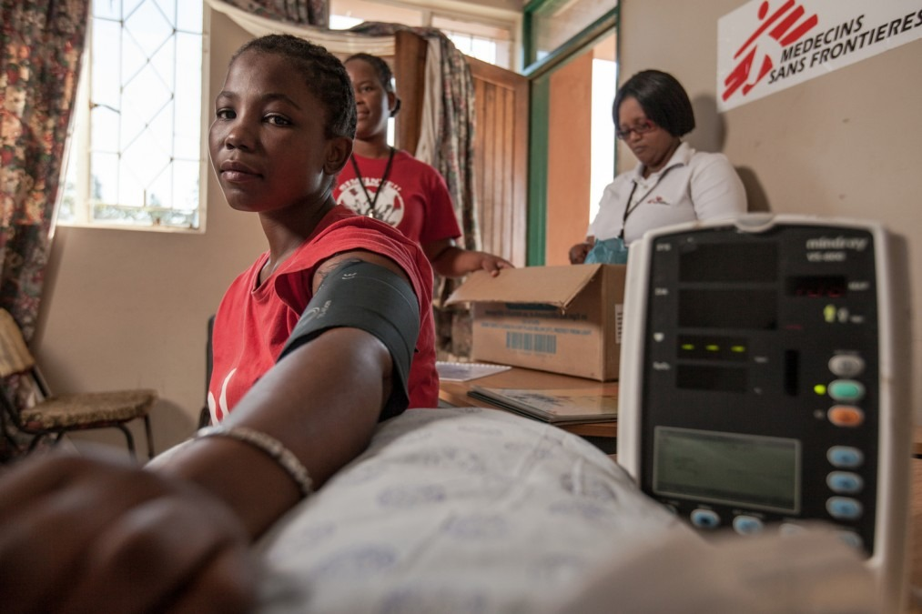 MSF South Africa HIV