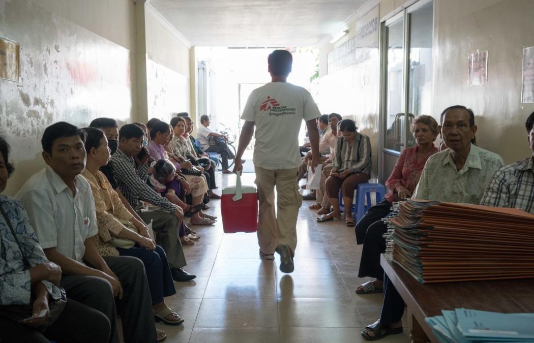 MSF Cambodge Hépatite C