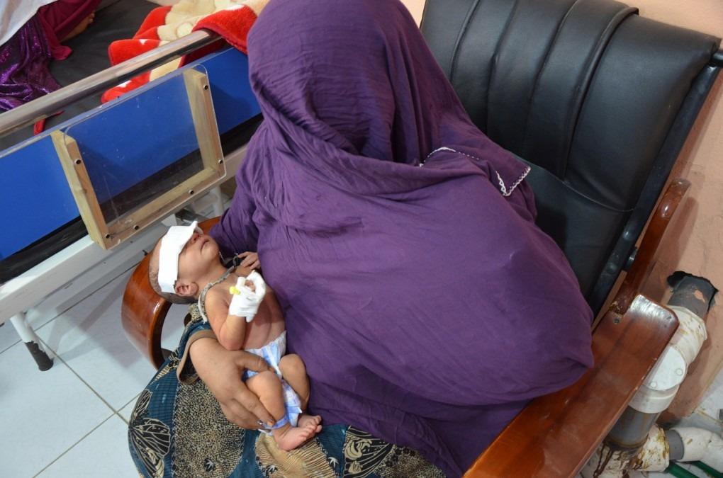 En 2012, MSF a ouvert une maternité à Khost, dans l'est de l'Afghanistan, pour remédier au manque de soins obstétricaux dans la région. Afghanistan. Août 2016. © Kate Stegeman/MSF