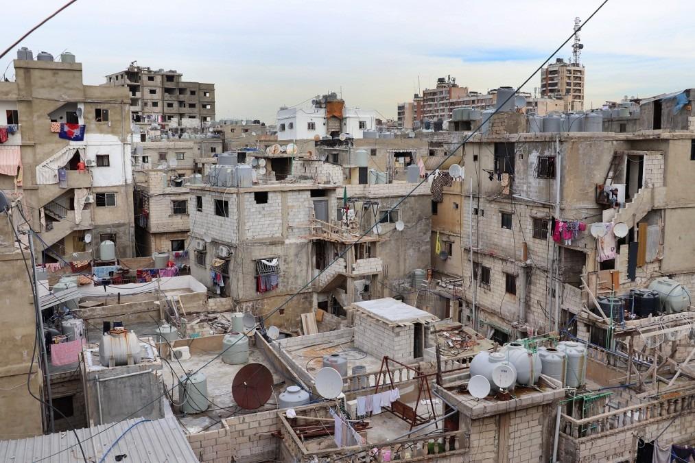 Shatila ist ein nur 4 Kilometer von  der Innenstadt Beirut (Lebanon) entferntes Flüchtlingslager. © Elisa Fourt/MSF