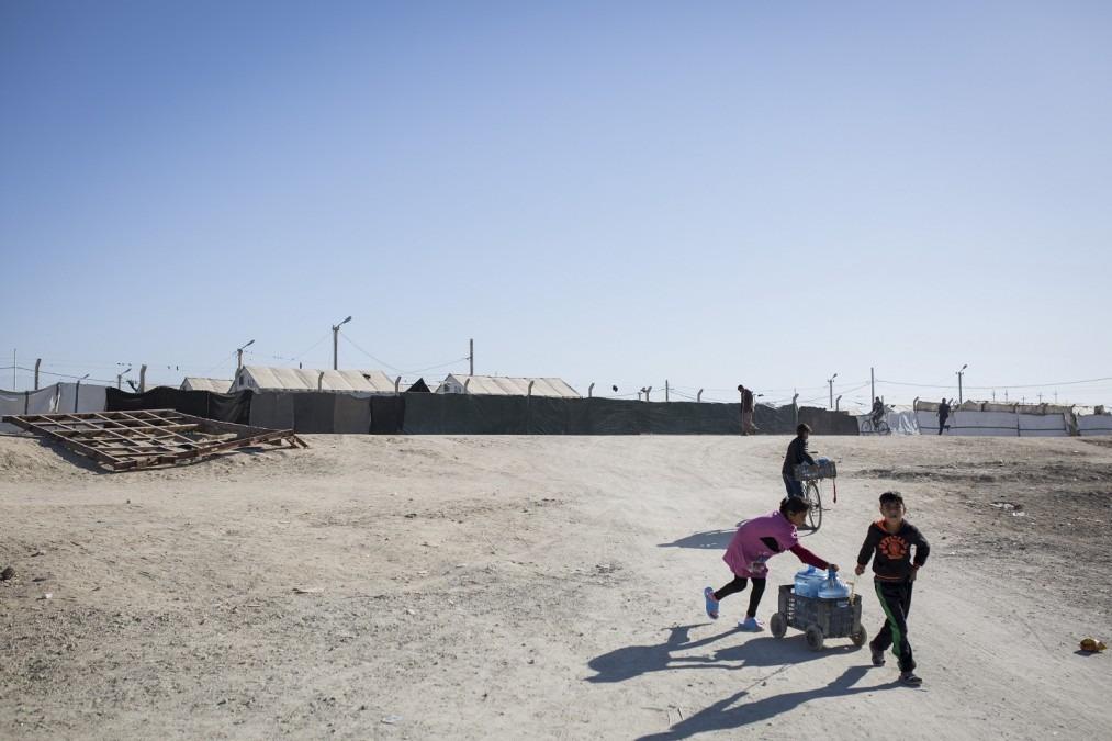 Das Habbaniya Camp, wo das MSF medizinische Zentrum  Gesundheitsversorgung, Weiterbehandlung von nichtübertragbaren Krankheiten und psychologische Betreuung anbietet. Dezember 2017. © Florian SERIEX/MSF