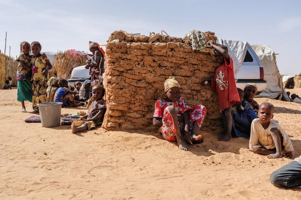 Le camp de réfugiés et personnes déplacées à Assaga au Niger, en mars 2018. © MSF/Alexander Wade