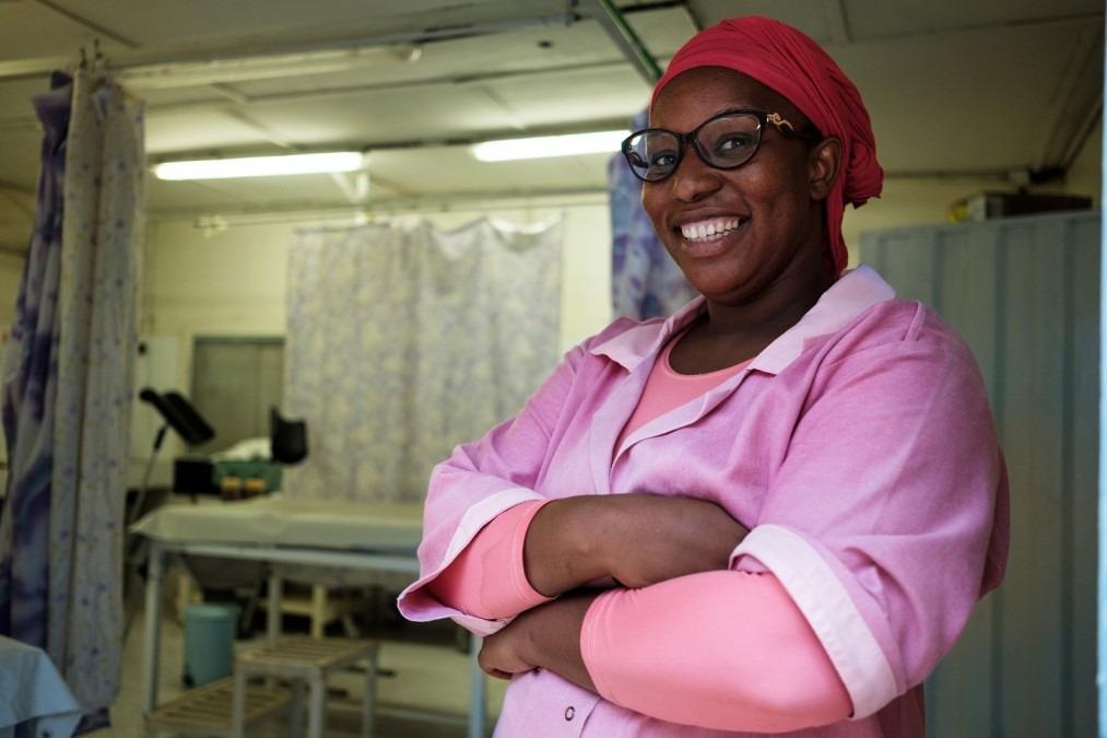 MSF Mauritanie Mbera Sage-femme