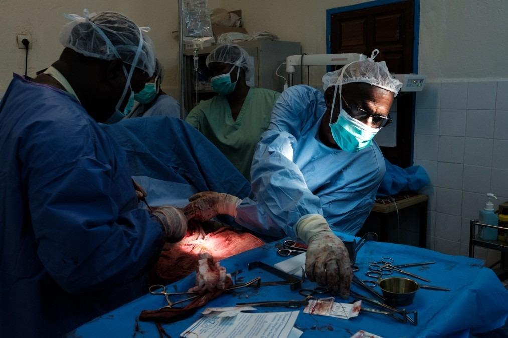 MSF Mbera Mauritanie Césarienne