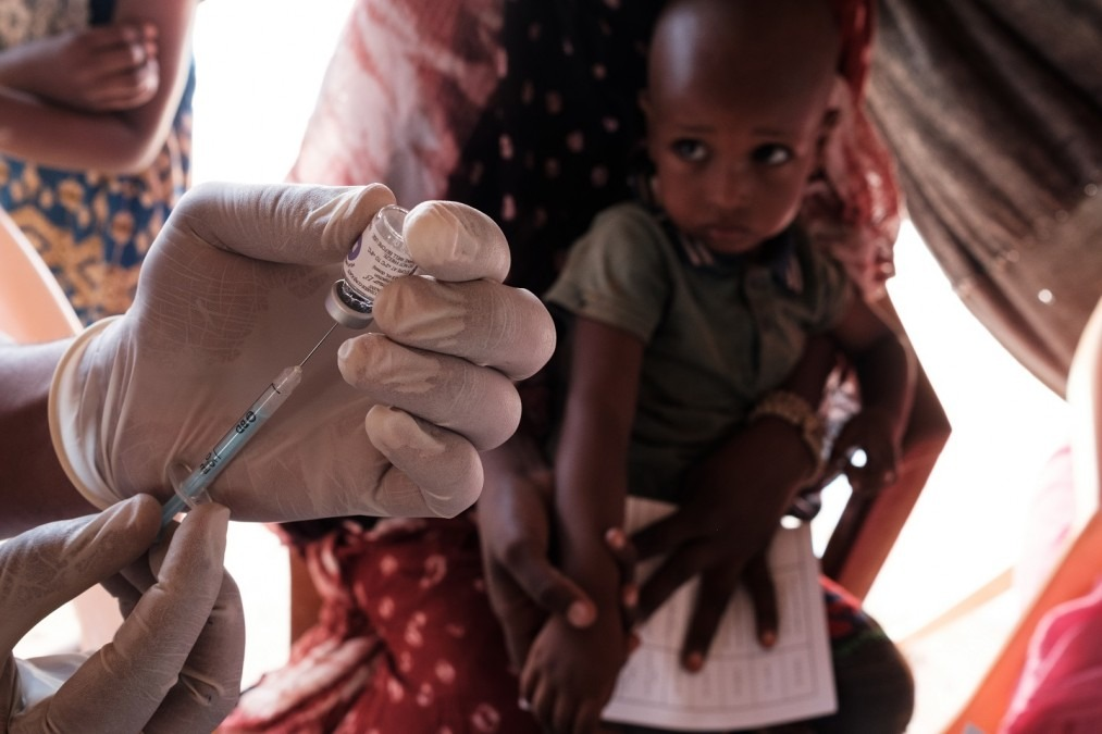 MSF Mauritanie Mbera vaccination