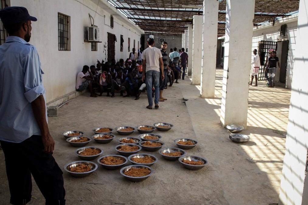 MSF Libye Centre de détention