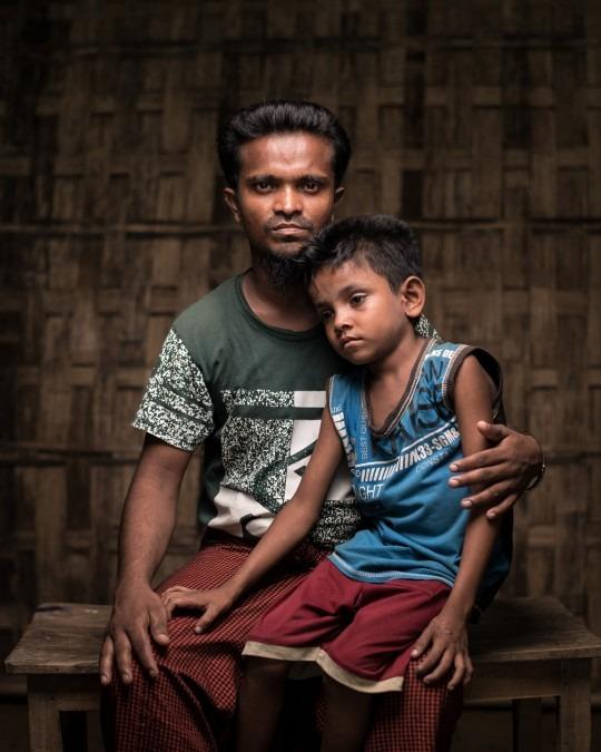 Bangladesh. Refugees. Story