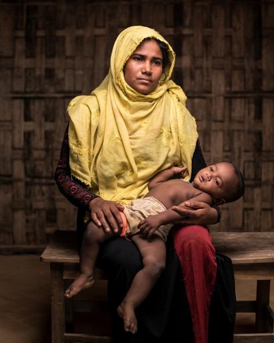 Bengladesh. Refugees. Story