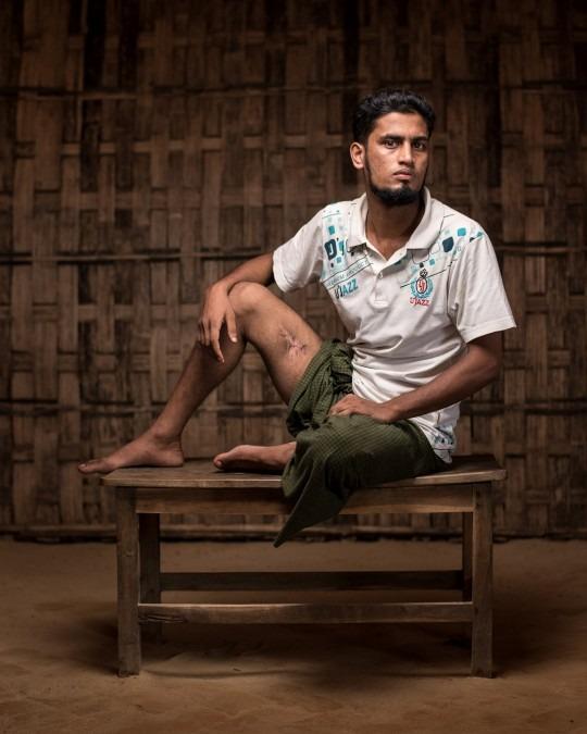 Bangladesh. Réfugiés. Témoignages