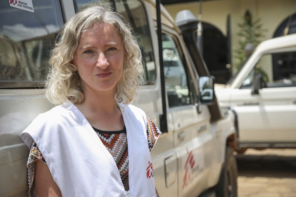 Dr. Hilde DeClercq. RDC, septembre 2018. © Carl Theunis/MSF