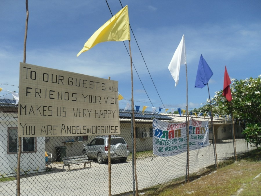 MSF Nauru asylum seekers