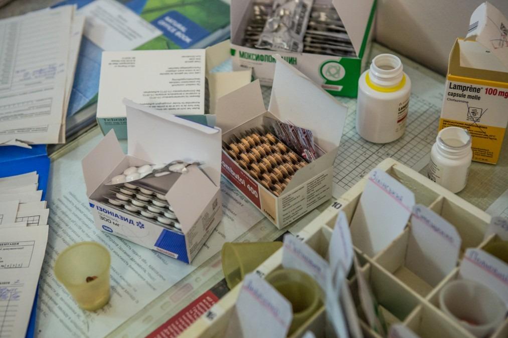 MSF Tuberculosis Ukraine