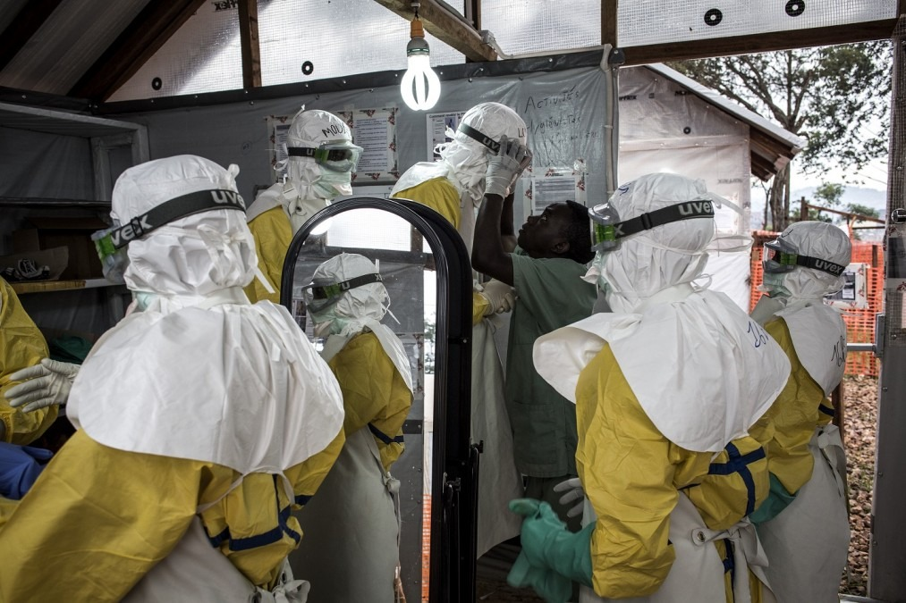 MSF Ebola Democratic Republic of Congo