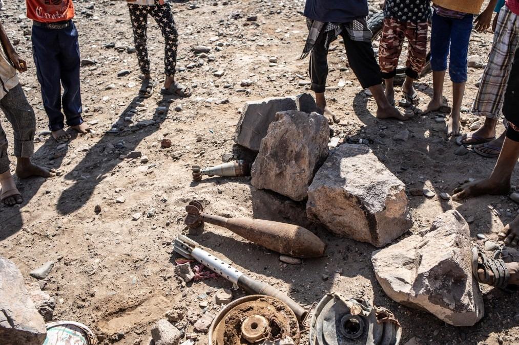 MSF Yémen Mawza engins explosifs