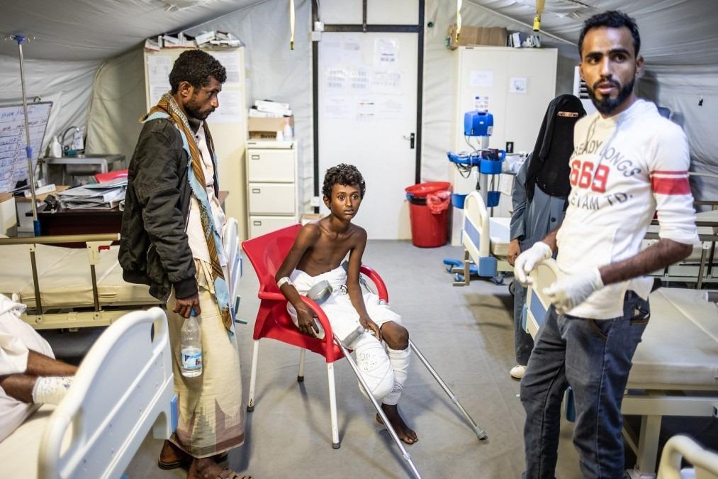 MSF Yémen mines antipersonnelles Mocha