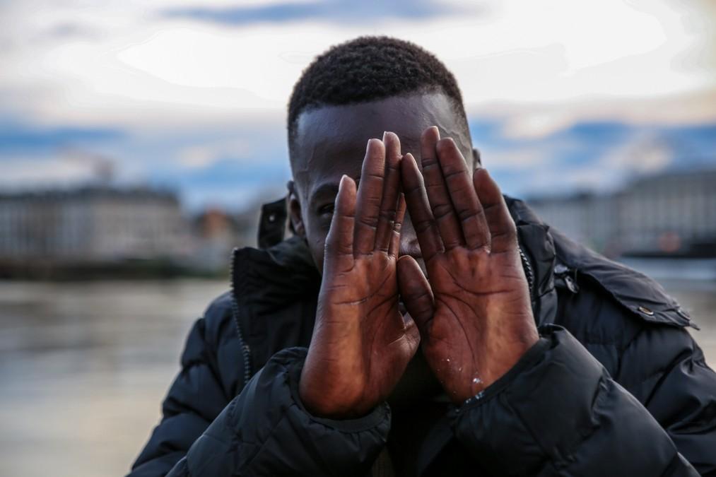 Nana a 16 ans et il est Guinéen. 2018. © Mohammad Ghannam/MSF