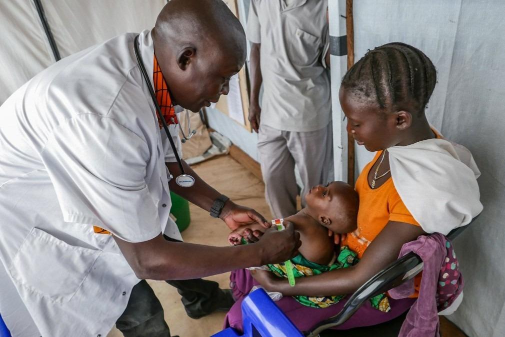 MSF RDC personnes déplacées Godol