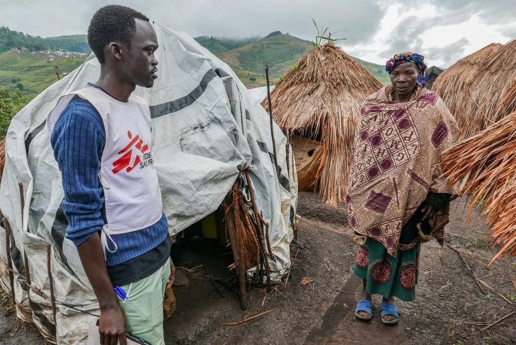 MSF RDC déplacés internes 2018 Godol