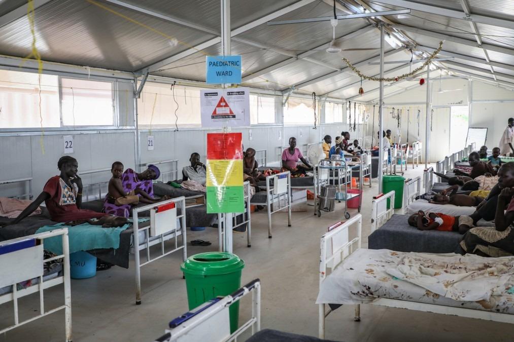 MSF Südsudan Schlangenbisse