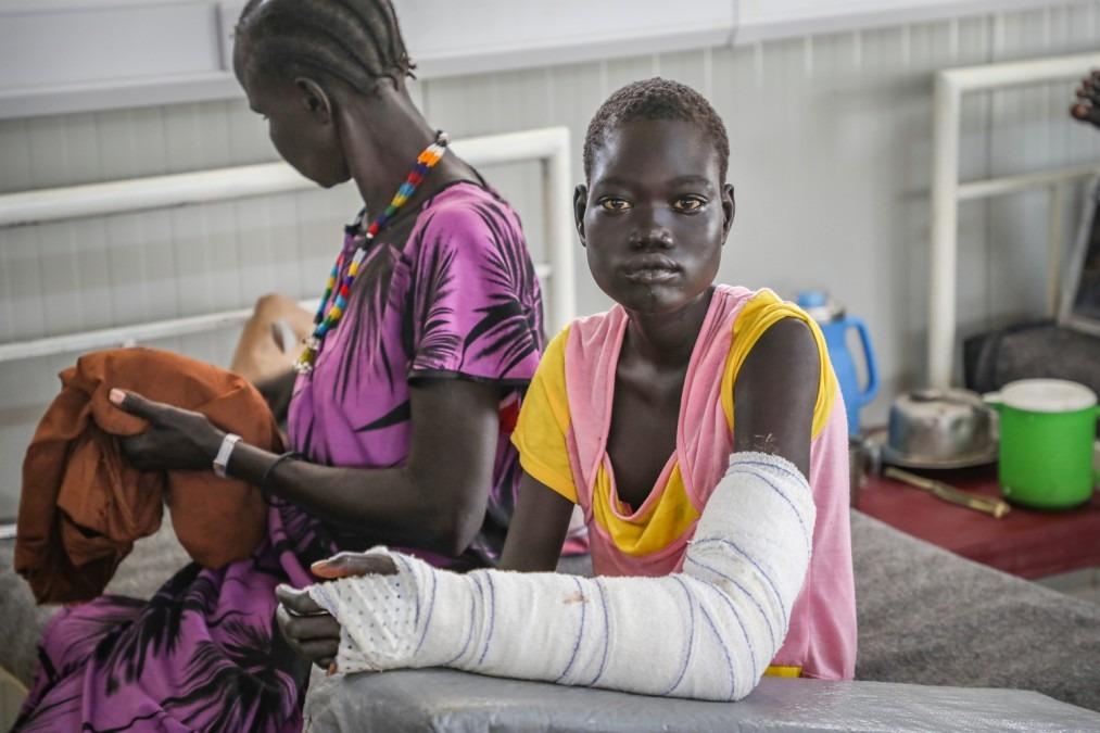 MSF Südsudan Schlagenbisse