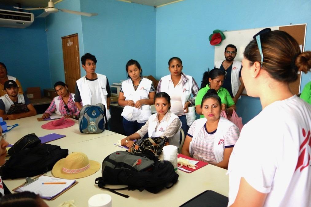 MSF Honduras Dengue-Fieber