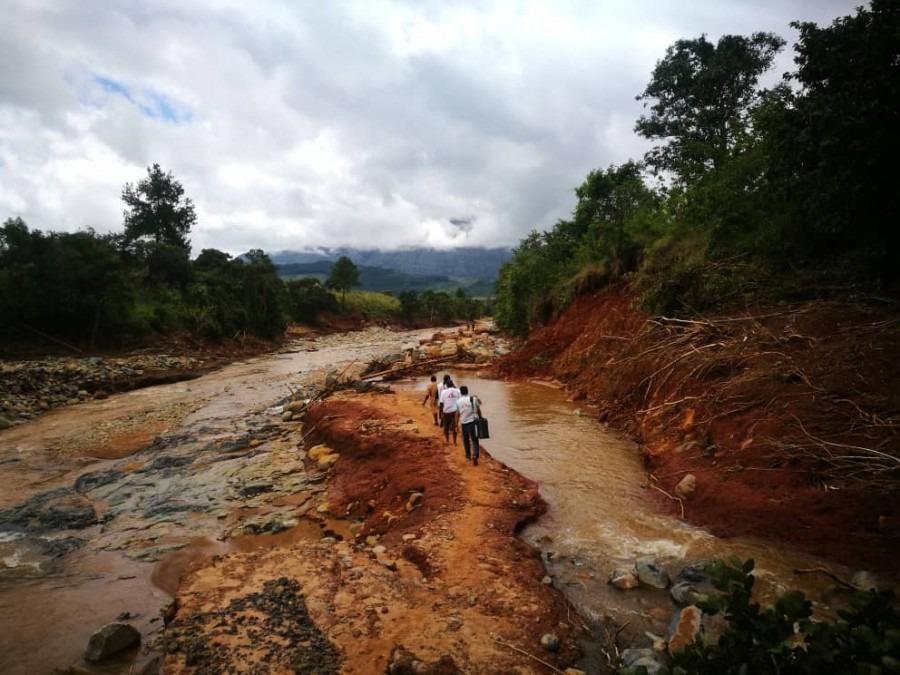 MSF Zyklon Idai Simbabwe