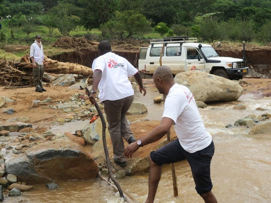 MSF Zyclon Idai Simbabwe
