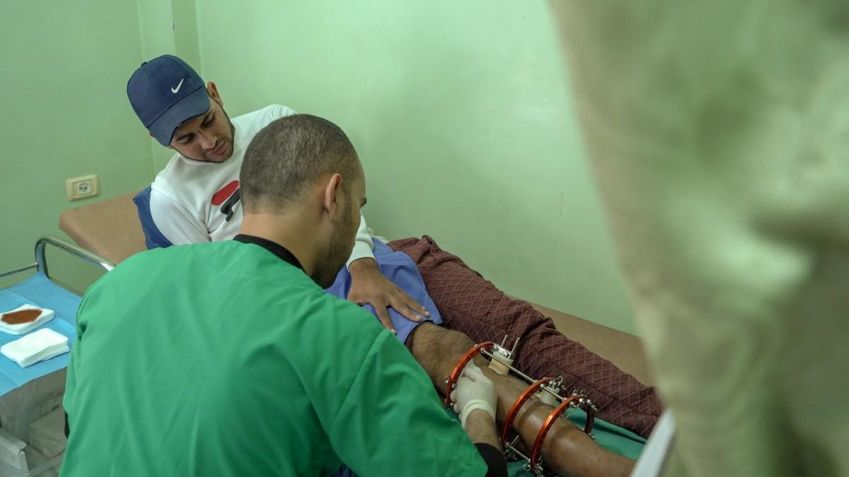 MSF Gaza Palestine grande marche du retour