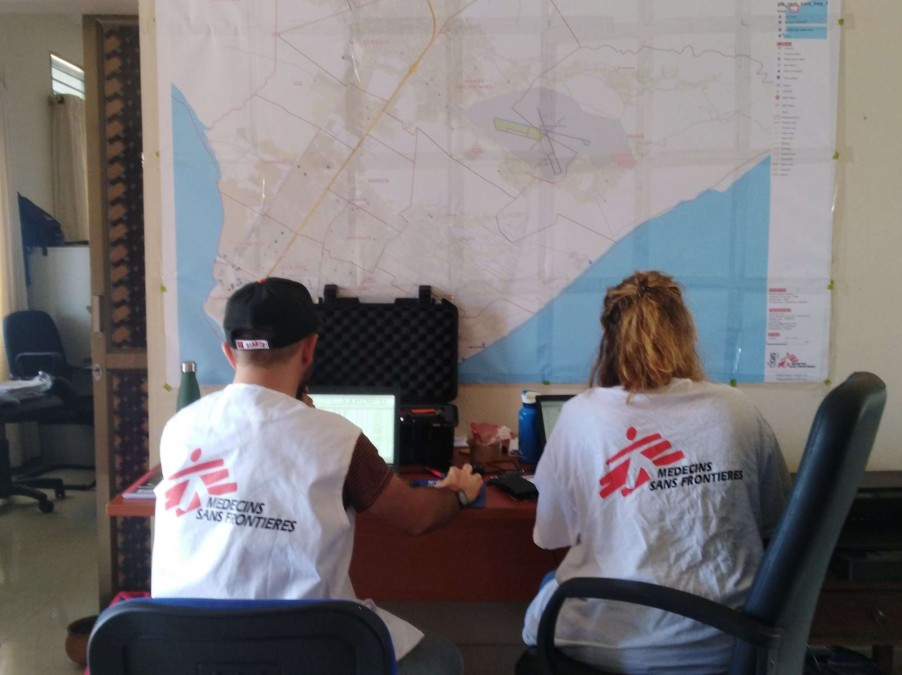 Mapping the needs: help emergency teams to mount an