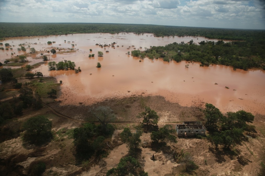 Mozambique. Cyclone Idai. Inondations.