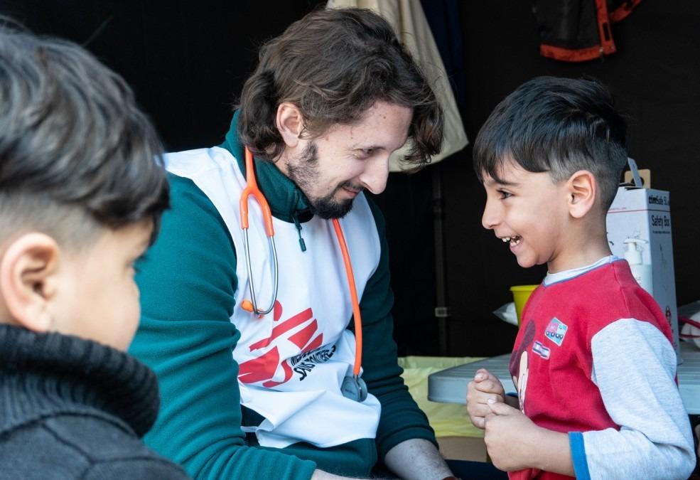 MSF Griechenland Lungenentzündung Impfstoff