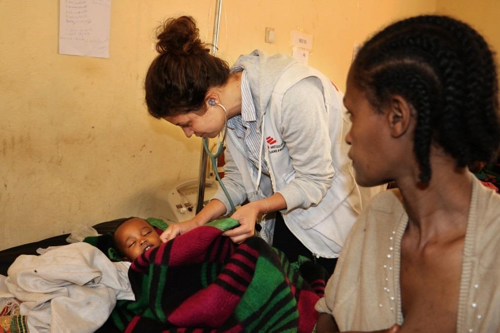 MSF Ethiopie malnutrition
