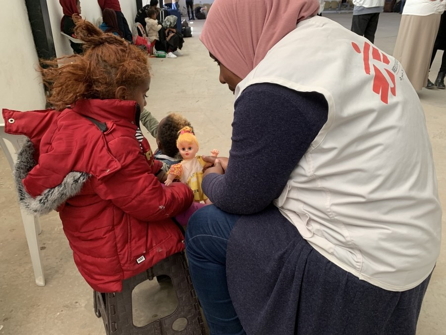 MSF Libyen Haftanstalt