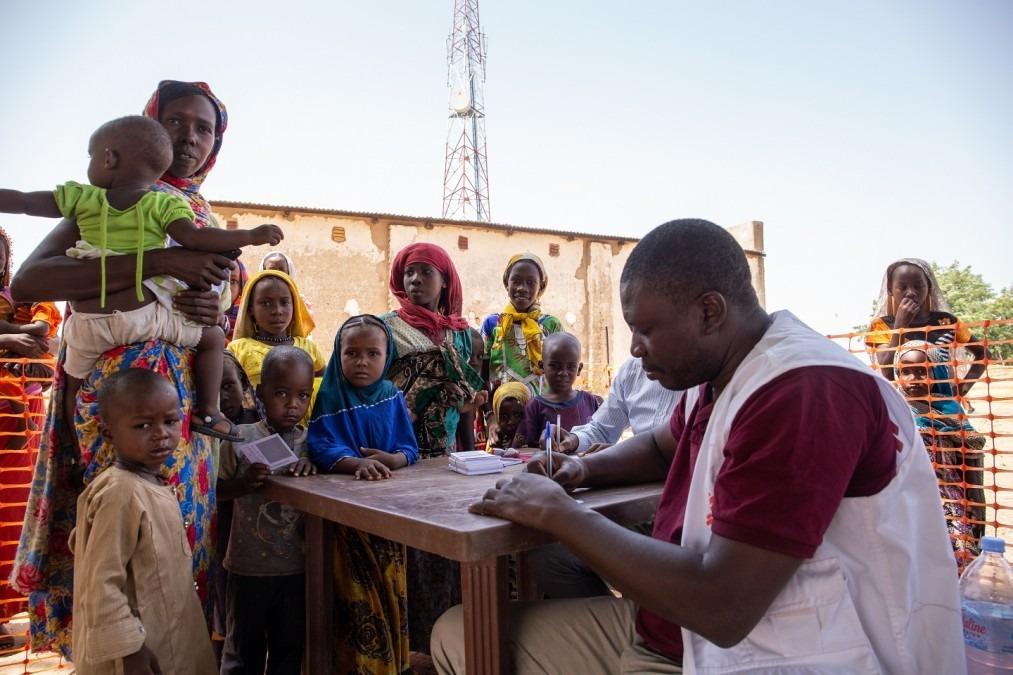 MSF Tschad Masern