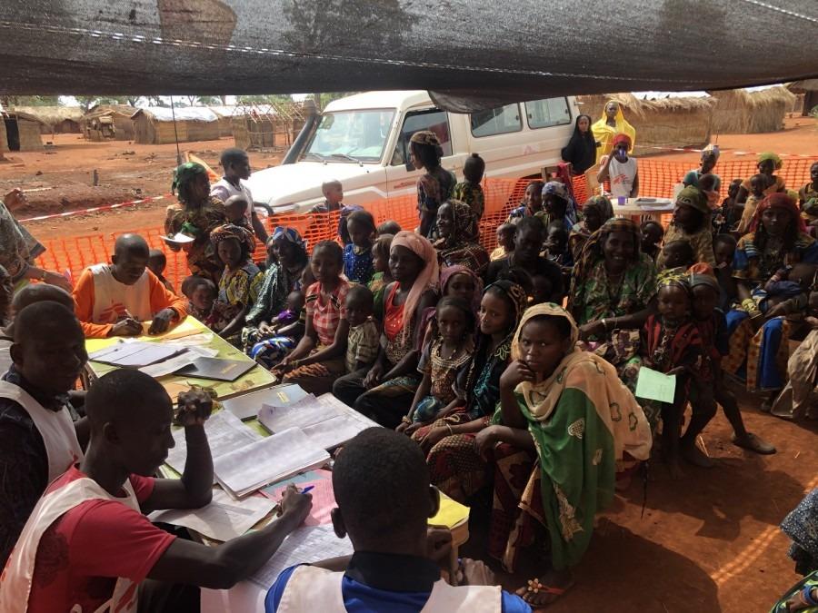 MSF République centrafricaine vaccination
