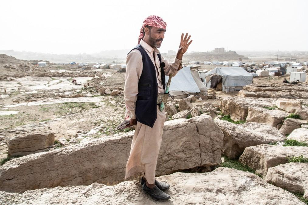 Yémen camp de Dahadh MSF