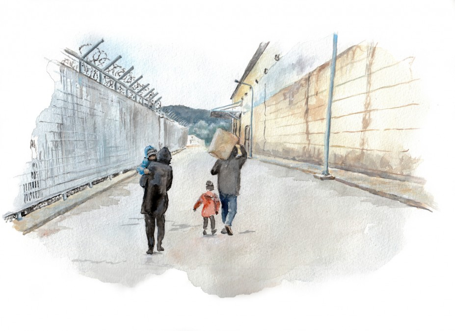MSF Greece Refugees