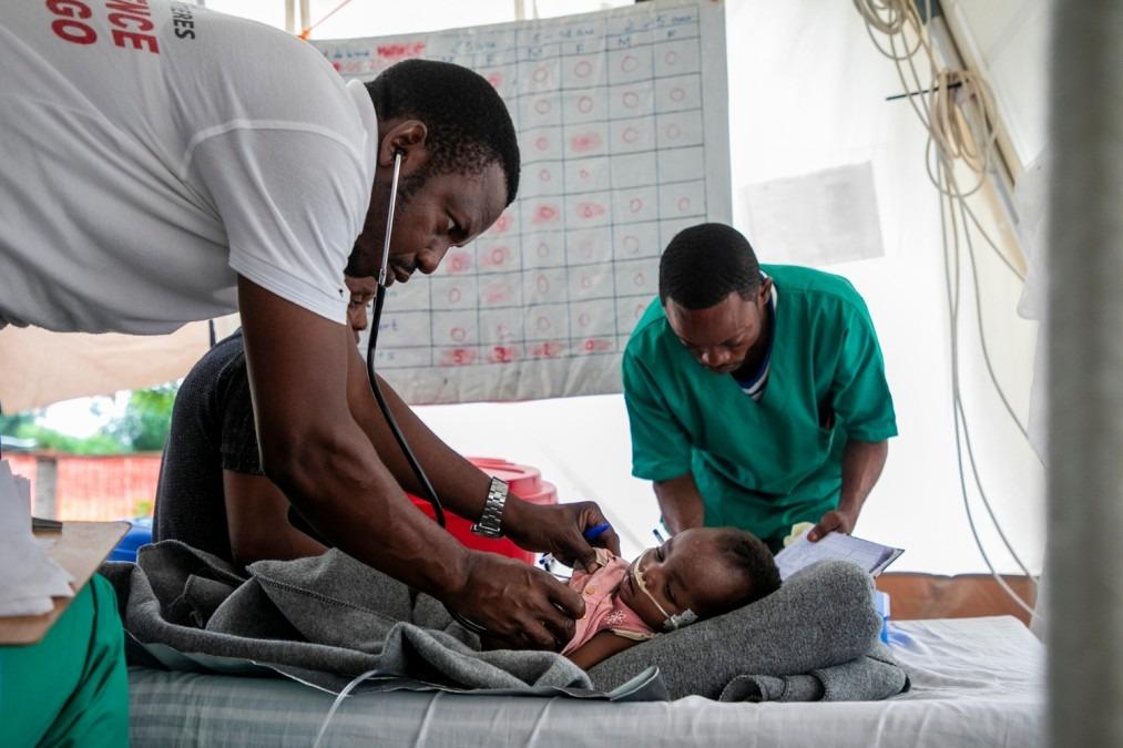 MSF République démocratique du Congo Rougeole