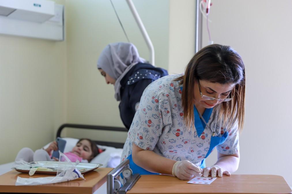 MSF Liban thalassémie